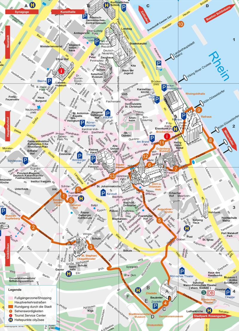 Mainz-Plan - Verkehrsverein Mainz
