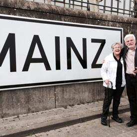 Mainz-Tafel am Kai
